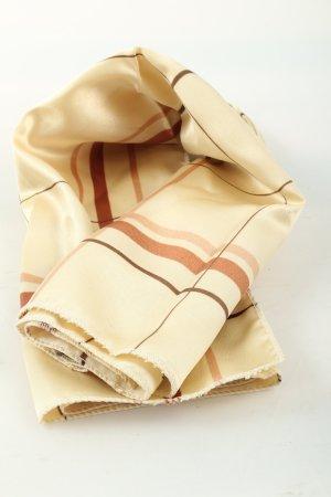 Loreal Halsdoek wolwit-bruin geruite print casual uitstraling