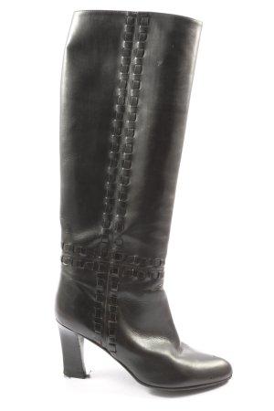 Lorenzo Banfi Wide Calf Boots black casual look