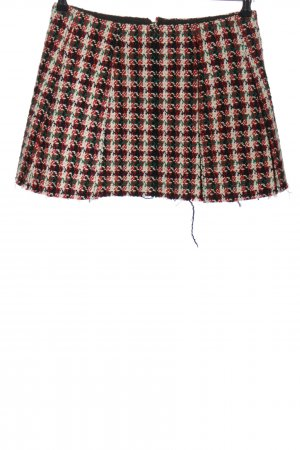 Lorenzo Serafini Tweed Skirt allover print casual look