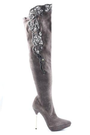 Loriblu Heel Boots light grey elegant