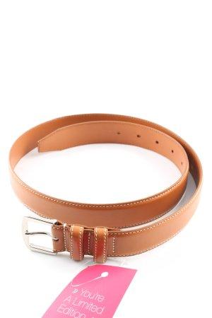 Loro Piana Cinturón de cadera naranja claro estilo «business»