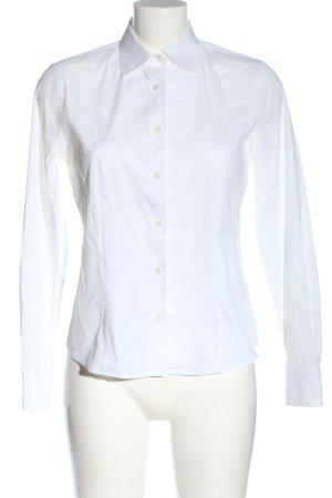 Loro Piana Camicia a maniche lunghe bianco stile professionale