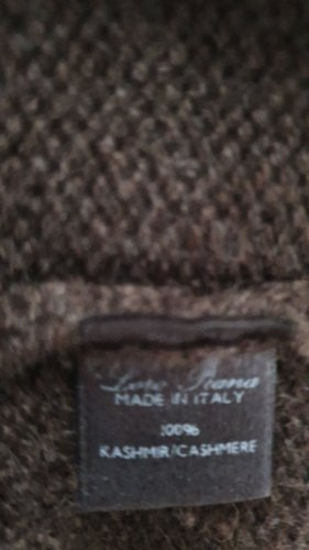 Loro Piana Knitted Coat brown cashmere