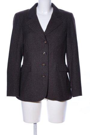 Loro Piana Blazer en tweed violet moucheté style d'affaires