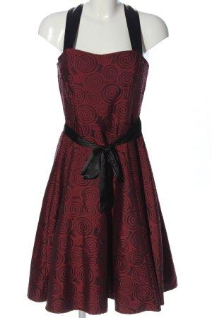 Lorsay Abendkleid rot Allover-Druck Elegant