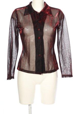 Lorsay Transparent Blouse brown-red elegant