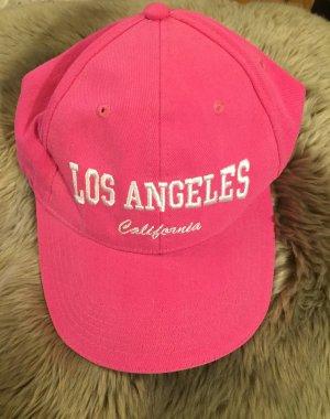 Los Angeles California Basecap Rosa Pink Baumwolle NEU