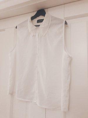 loses weißes Hemd mit süßem Kragen von Minkpink
