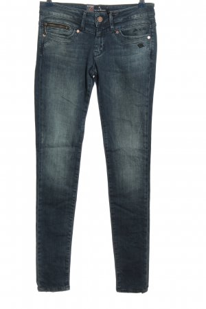 Lost in Paradise Röhrenjeans blau Casual-Look