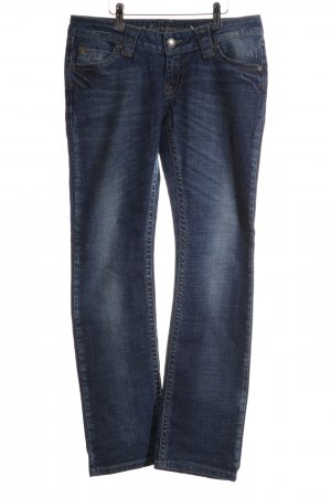 Lost in Paradise Straight-Leg Jeans blau Casual-Look