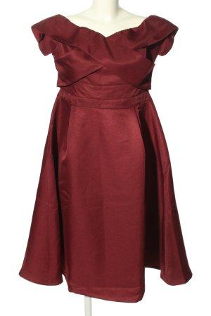 Lost Ink Abendkleid rot Elegant