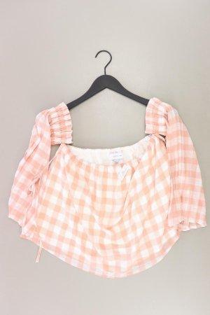 Lost Ink Bluse Größe 38 orange aus Polyester