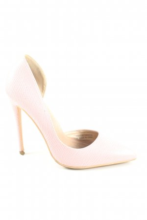 Lost Ink High Heels pink Business-Look