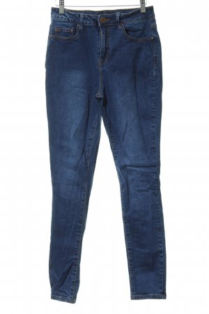 Lost Ink Slim Jeans blau Casual-Look