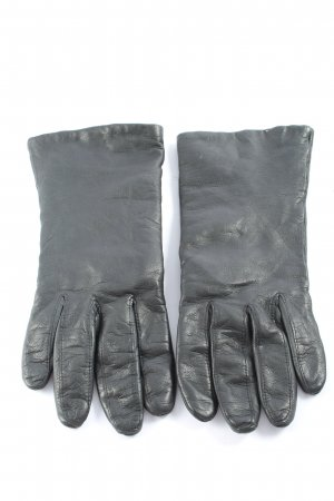 lothar weikert Rękawiczki skórzane jasnoszary W stylu casual