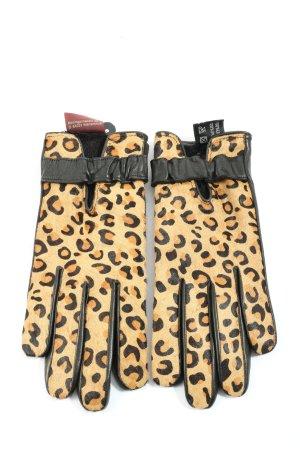 lothar weikert Guanto in pelle Stampa leopardata stile casual