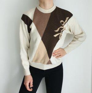 Lotos 46 Oversize Pullover Hoodie Pulli Sweater Strickjacke Top Oberteil True Vintage