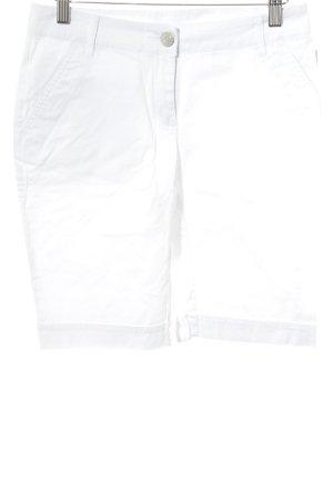 Lotto High-Waist-Shorts weiß Casual-Look