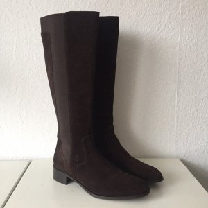 Lottusse Jackboots dark brown-brown leather