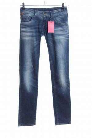 Lotus Straight-Leg Jeans blau Casual-Look