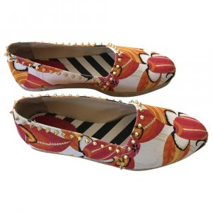 Christian Louboutin Mocassino multicolore Lino