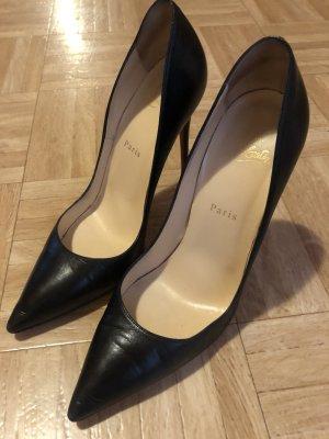 Christian Louboutin High Heels black leather