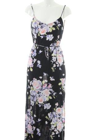 Louche Blusenkleid schwarz-weiß abstraktes Muster Street-Fashion-Look