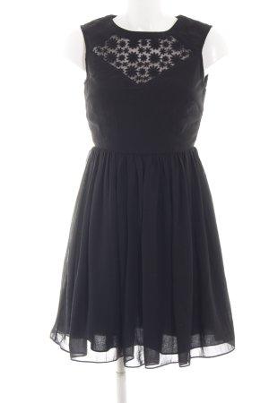 Louche Cocktailkleid schwarz Elegant