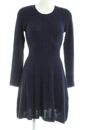 Louche Strickkleid blau Casual-Look