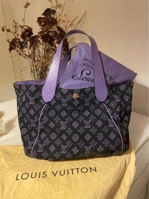 Louis Vuitton Shopper zwart-blauw-paars