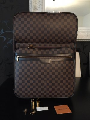 Louis Vuitton Valise Trolley marron clair-brun