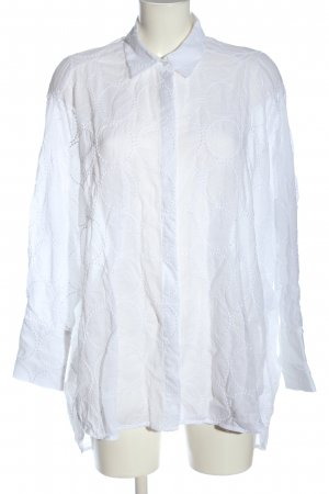 LOUIS and MIA Long Sleeve Shirt white casual look