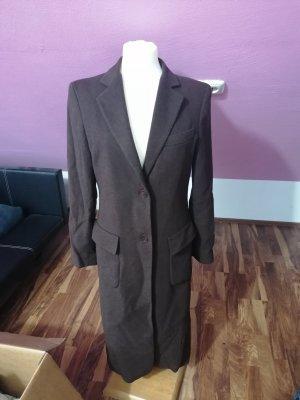 Louis Feraud Gabardina tipo vestido marrón-negro