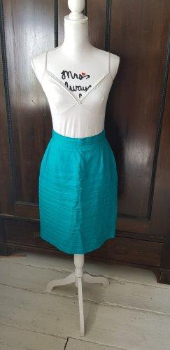 Louis Feraud Midi Skirt turquoise