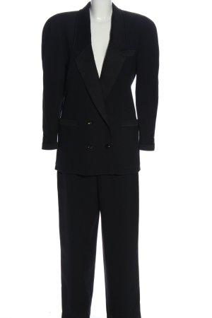 Louis Feraud Tailleur-pantalon noir style décontracté