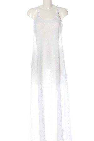 Louis Feraud Pinafore dress white graphic pattern elegant
