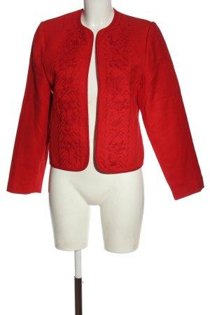 Louis Feraud Wełniana marynarka czerwony Wyhaftowany logo W stylu casual