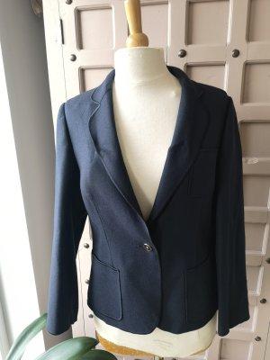 Louis Feraud Wool Blazer gold-colored-dark blue
