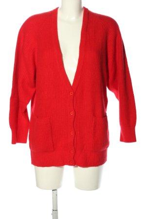 Louis London Cardigan rosso stile casual