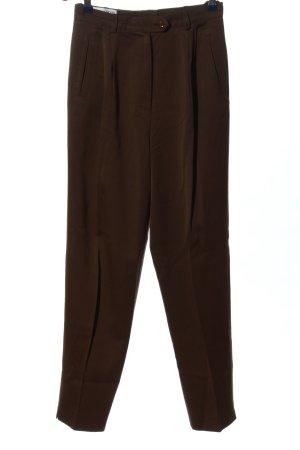 Louis London Pantalone jersey marrone elegante