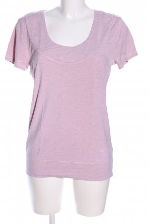 Louis & Louisa T-Shirt lila meliert Casual-Look