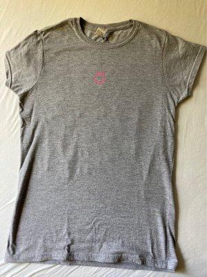 Gildan T-Shirt pink-grey