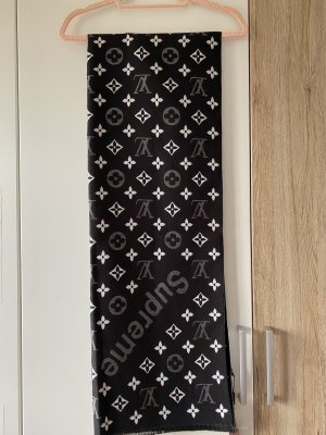 Louis Vuitton Sciarpa di lana bianco-nero