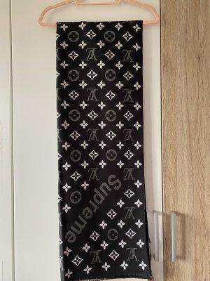 Louis Vuitton Wollen sjaal wit-zwart