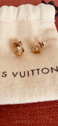 Louis Vuitton Clou d'oreille doré