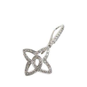 Louis Vuitton 18K Diamond Les Ardentes Fleur Earrings