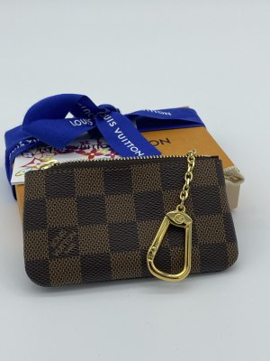 Louis Vuitton Key Case bronze-colored