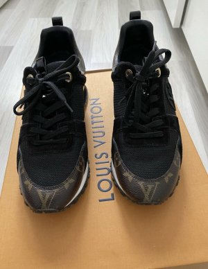 Louis Vuitton Skater Shoes black-brown
