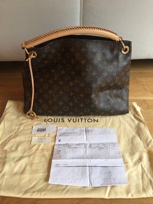 Louis Vuitton Shoulder Bag bronze-colored-black brown