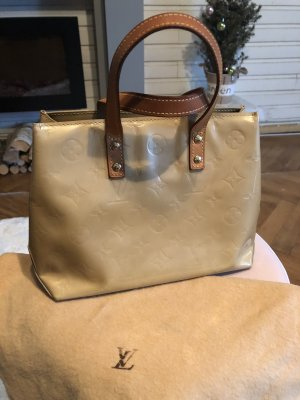 Louis Vuitton Carry Bag oatmeal-cream leather
